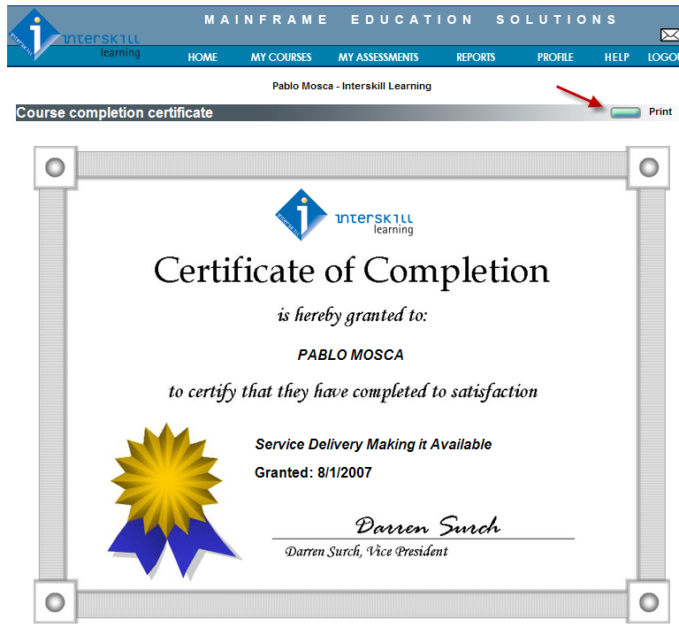 Mainframe Training Online by Interskill Learning - IBM Training